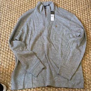 NWT Polo Ralph Lauren quarter zip pullover